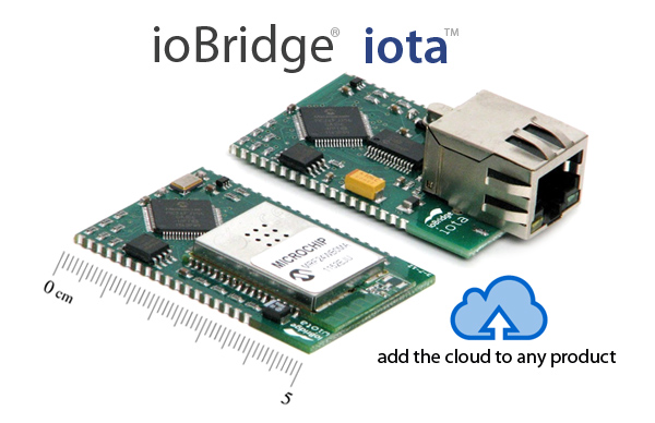 ioBridge iota Wi-Fi and Ethernet Modules